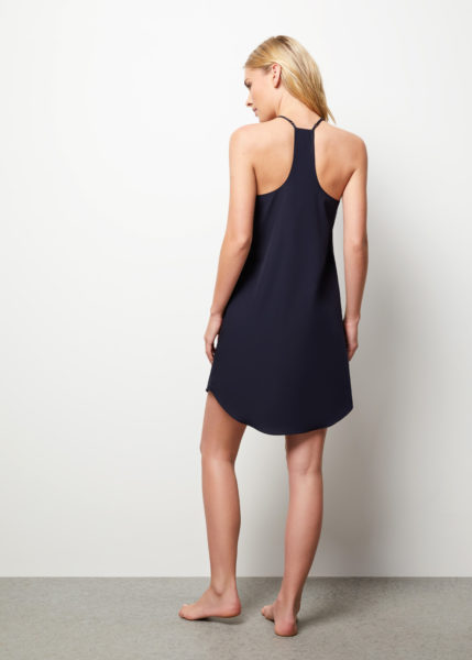 The Blair Camisole Slip Dress - Rear view