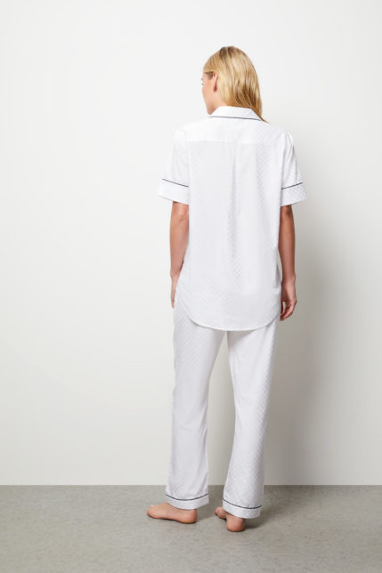 The Lily Pyjama Set Short Sleeve - Rear view