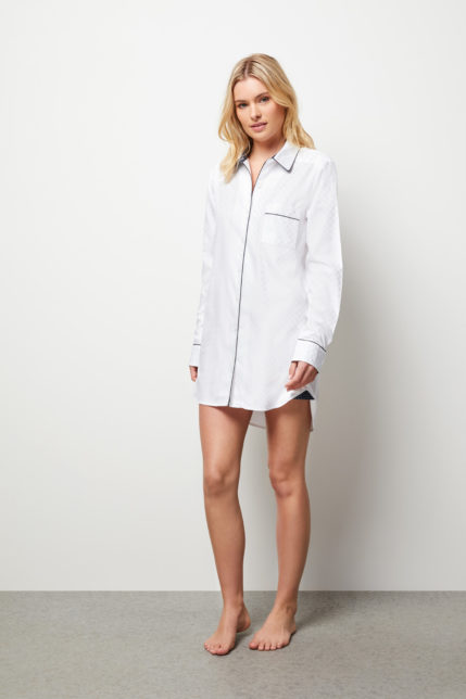 The Lily Night Shirt - Front View