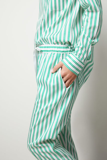 The Willow Pyjama Set Long Sleeve - Side view